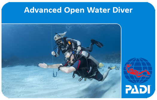 PADI ADVANCED OPEN WATER DIVER DALICI EĞİTİMİ